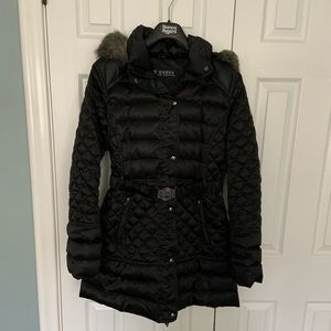 Black GUESS coat ... excellent condition